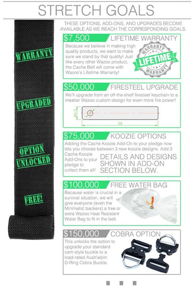 The Cache Belt™ | Kickstarter | $100K in under 2 Weeks! New Stretch Goal Opened!