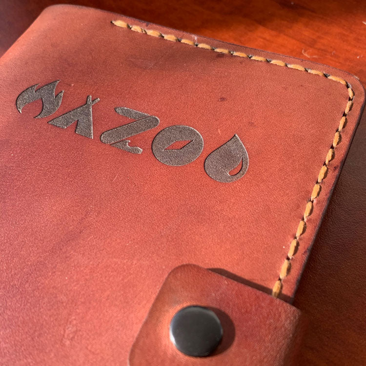 TogetherMade custom leather journal.