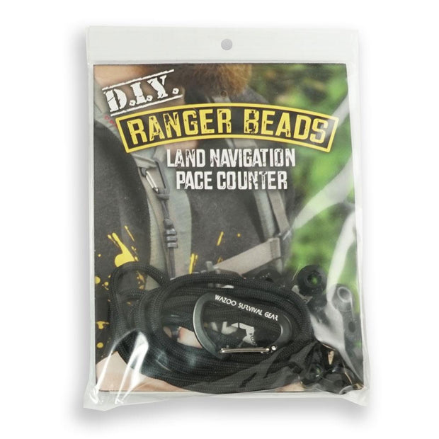 DIY Ranger Pace Bead kit in bag from Wazoo