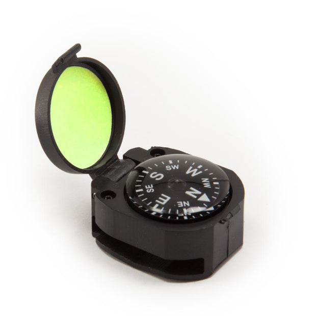 Clamshell Compass