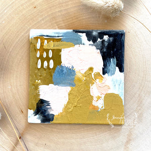 Before Sunset Mini-Abstract Art Canvas