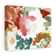 Load image into Gallery viewer, Garden Walk Floral Abstract Canvas