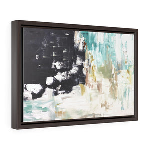 Falling Horizon Abstract  Premium Gallery Wrap Canvas