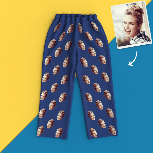 Custom Face Colorful Pajamas - MyFaceSocksJP