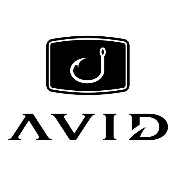 AVID Fishing Decal - Black