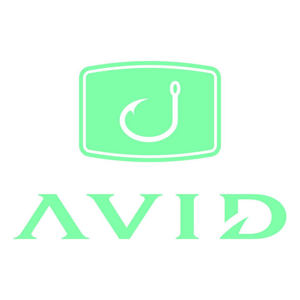 AVID Fishing Decal - Mint