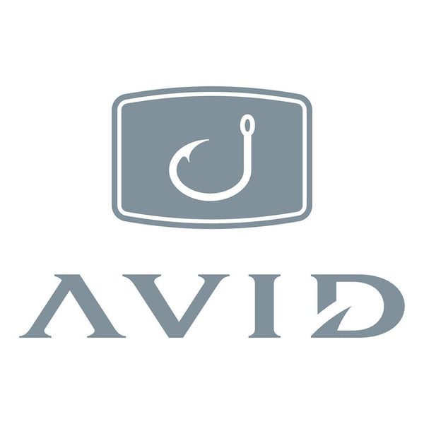 AVID Fishing Decal - Silver