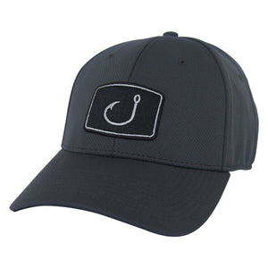 14cb0a1d9eb83 AVID Iconic Fitted Fishing Hat - Charcoal
