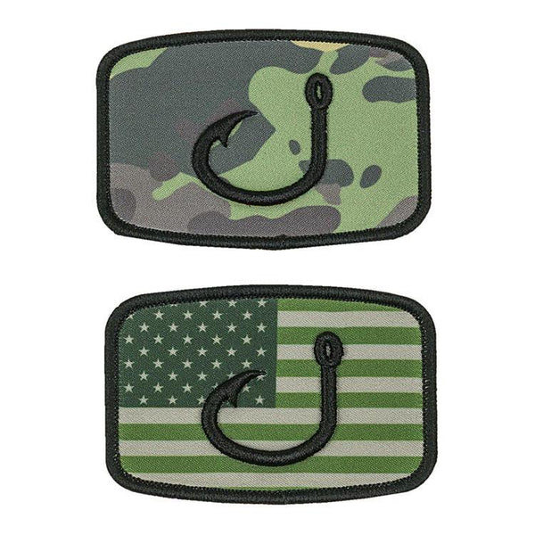 Camo Flag Patches
