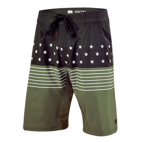 Iconic Boardshort USA Print