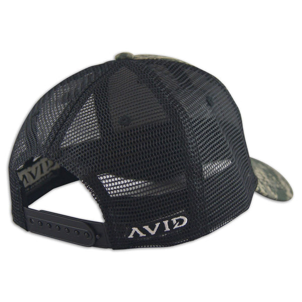 AVID Digital Camo Trucker - Back