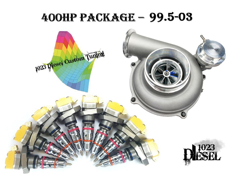 Stage 2 Package - 400HP | 99.5-03 7.3L