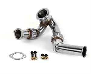 DieselSite Stainless Bellowed Up-Pipes | 03-07 6.0L