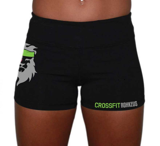 Ladies CrossFit Rohkeus Shorts (pre-order)-Boxstar Apparel