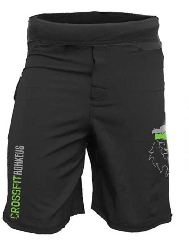 Men's CrossFit Rohkeus WOD Shorts (pre-order)-Boxstar Apparel