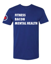 Allan Eilts Fitness Bacon Mental Health Unisex Tee-Boxstar Apparel