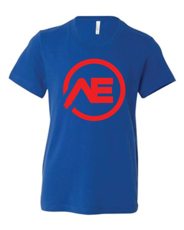 Allan Eilts AE Logo Youth Tee-Boxstar Apparel