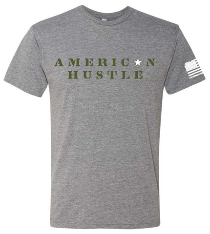 Men's American Hustle Tee-Boxstar Apparel