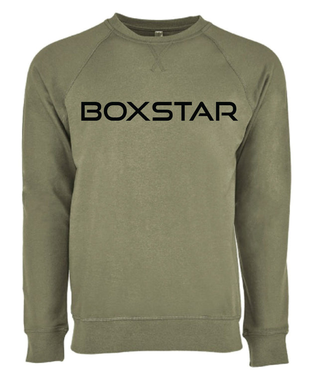 Army Crewneck Sweatshirt-Boxstar Apparel