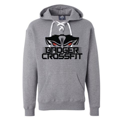 Badger CrossFit Lace Sweatshirt-Boxstar Apparel
