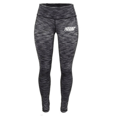 Badger CrossFit Ladies Full Length Space Dye Tights-Boxstar Apparel