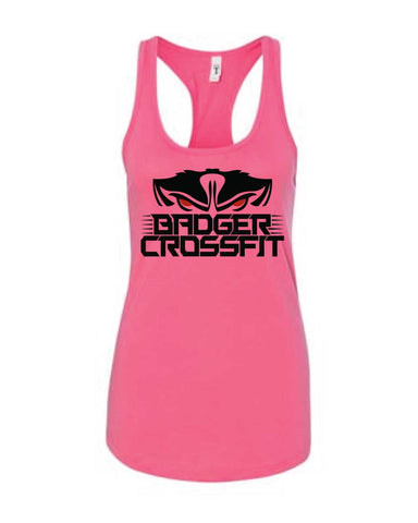 Badger CrossFit Ladies Racerback Tank-Boxstar Apparel