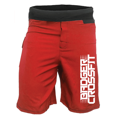 Men's Badger CrossFit WOD Shorts-Boxstar Apparel