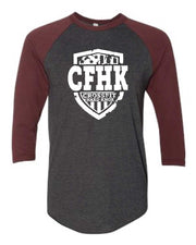 CrossFit Hard Knox Baseball Tee-Boxstar Apparel