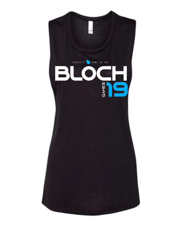 Bloch 2019 Games Ladies Muscle Tank-Boxstar Apparel