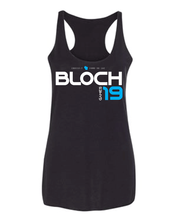 Bloch 2019 Games Ladies Racerback Tank-Boxstar Apparel