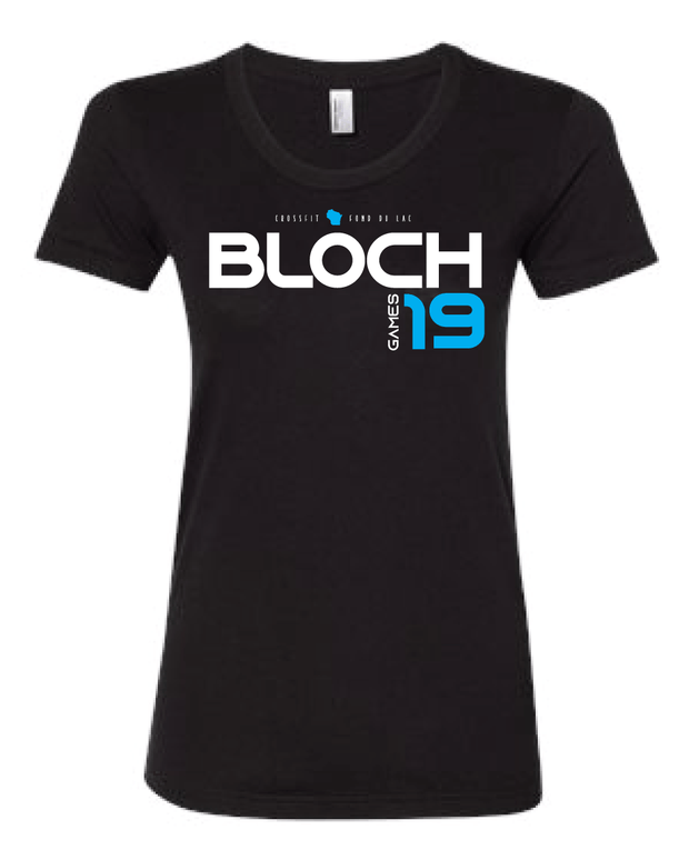 Bloch 2019 Games Ladies Tee-Boxstar Apparel