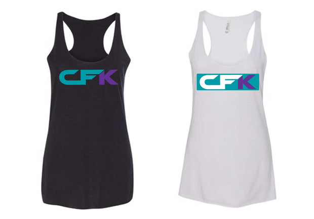 CFK Ladies Banner Tank-Boxstar Apparel