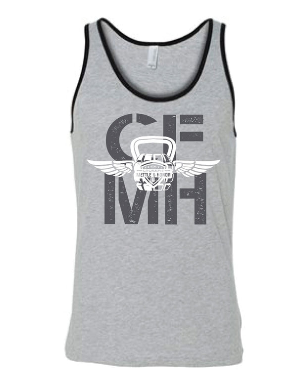 CrossFit Mettle & Honor Men's Tank-Boxstar Apparel