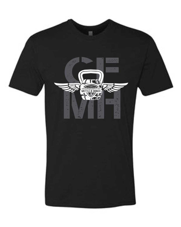 CrossFit Mettle & Honor Men's Tee-Boxstar Apparel