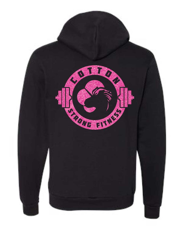 Cotton Strong Zip Hoodie-Boxstar Apparel