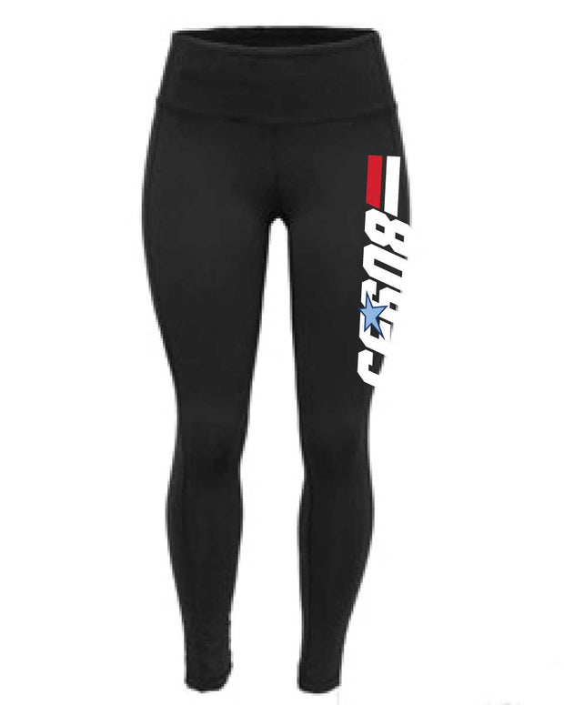 CrossFit 608 Ladies High Waisted Tights-Boxstar Apparel