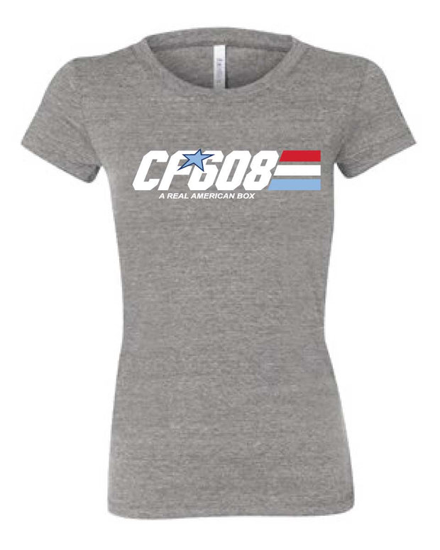 CrossFit 608 Ladies Tee-Boxstar Apparel