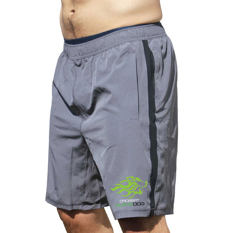 CrossFit Alpha Dog Men's Coach Shorts-Boxstar Apparel
