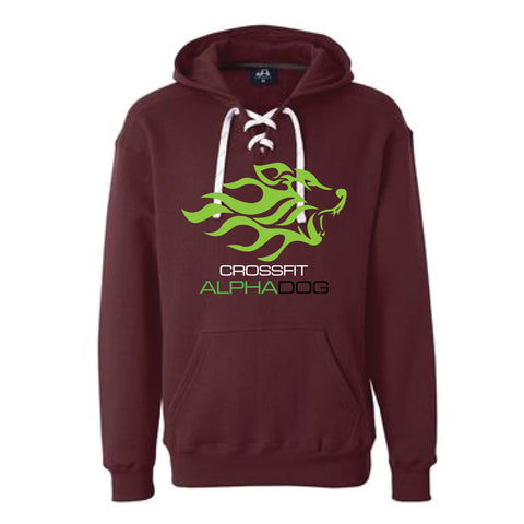 CrossFit Alpha Dog Pullover Lace Sweatshirt-Boxstar Apparel
