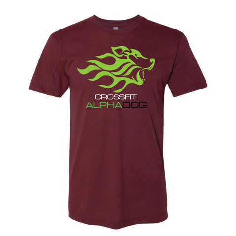 CrossFit Alpha Dog Men's Tri-blend Tee-Boxstar Apparel