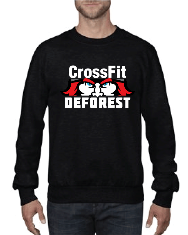 CrossFit Deforest Crewneck Sweatshirt-Boxstar Apparel