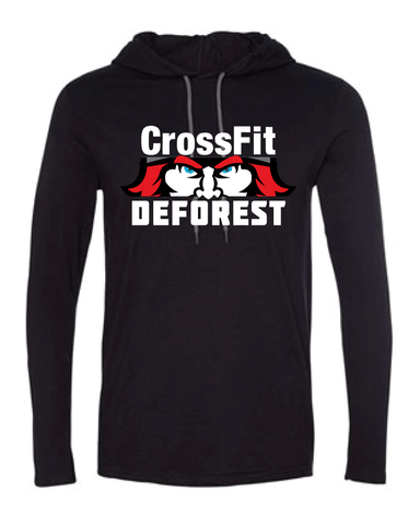 CrossFit Deforest Unisex Hooded Tee-Boxstar Apparel
