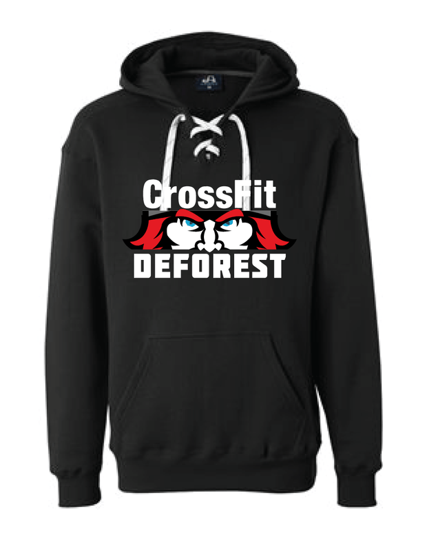 CrossFit Deforest Lace Sweatshirt-Boxstar Apparel