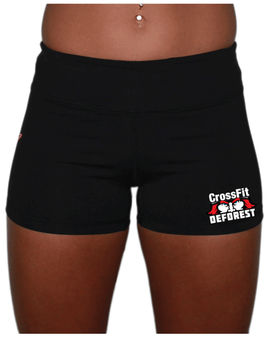 CrossFit Deforest Ladies Shorts-Boxstar Apparel