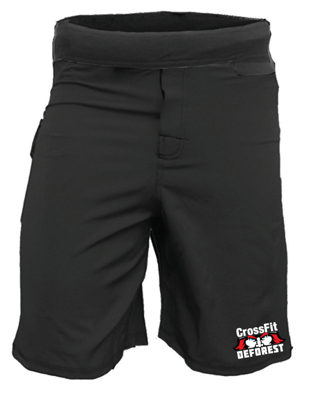 CrossFit Deforest Men's WOD Shorts-Boxstar Apparel