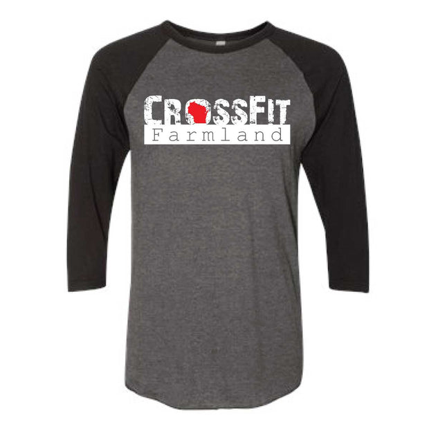 CrossFit Farmland Baseball Tee-Boxstar Apparel