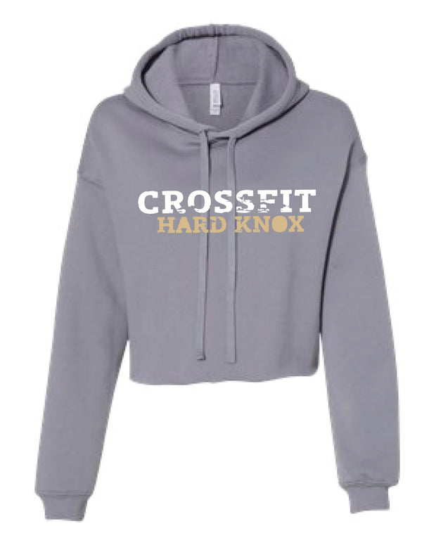 CrossFit Hard Knox Cropped Hooded Sweatshirt-Boxstar Apparel