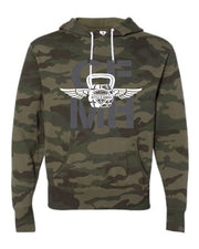 CrossFit Mettle & Honor Pullover CFMH Logo Hoodie-Boxstar Apparel