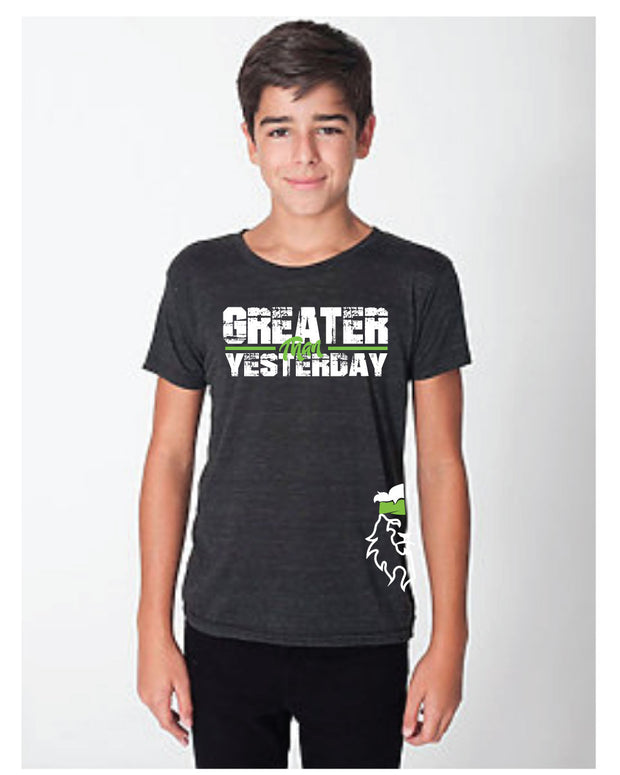 CrossFit Rohkeus Greater Than Yesterday Youth Tee (pre-order)-Boxstar Apparel