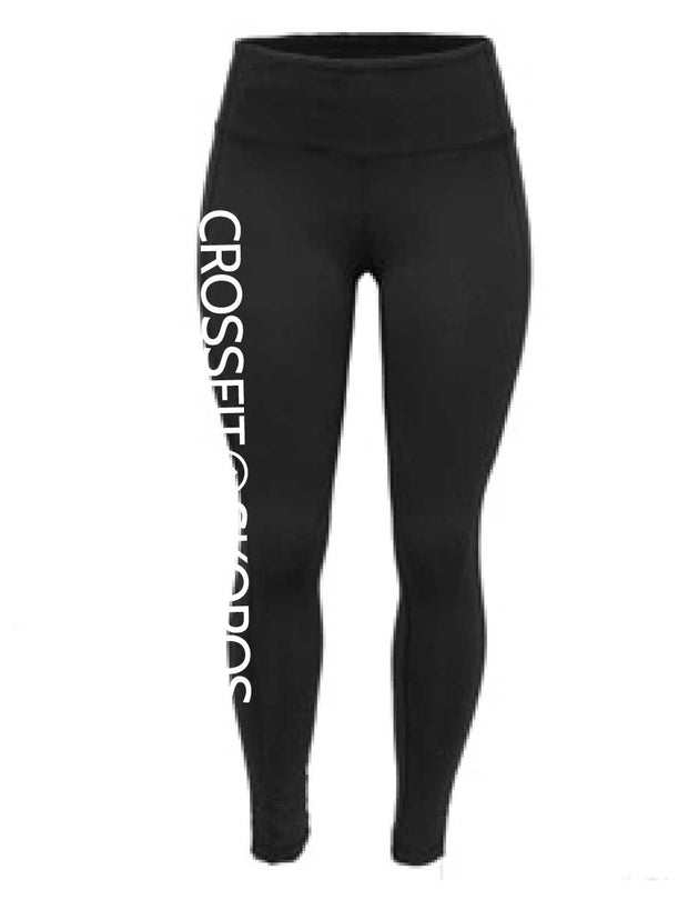 CrossFit Skopos Ladies Regular Waist Full Length Tights-Boxstar Apparel